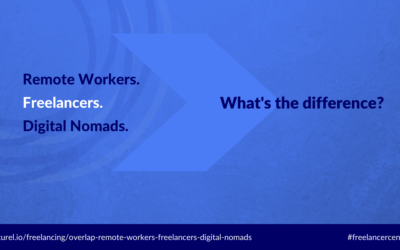 Remote Workers, Freelancers, and Digital Nomads: What's the Overlap?